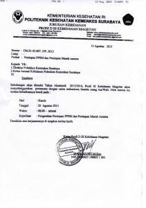 pengumuman pendaftaran MABA