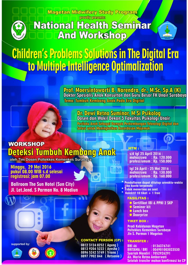 Seminar dan Workshop 2016