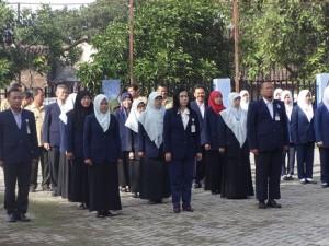 Upacara PPSM 2016-Karyawan dan PD II