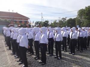 Upacara PPSM 2016-Mahasiswa Baru